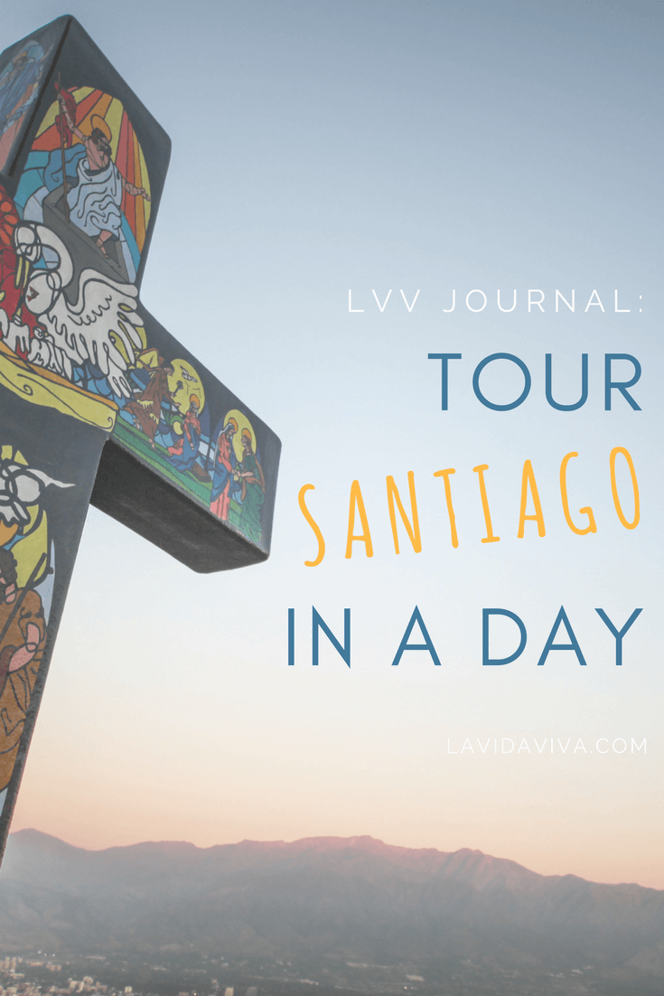 We had one full day to tour Santiago (which was more than enough). In 24 hours, we managed to go on a full walking tour, watch the sunset over the city, get lost and indulge on delicious Chilean food. Read more of our LVV Diaries.