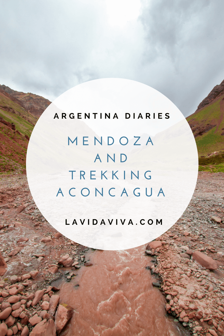 Mishaps from crossing the Chilean/Argentian border, spending time in Mendoza and trekking Aconcagua. Read about our time in Argentina.