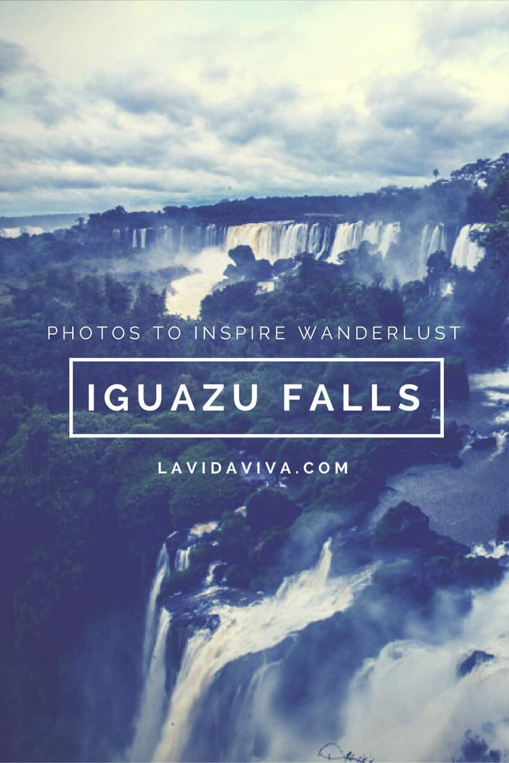 Get inspired to travel to Argentina and see the Iguazu Falls.
