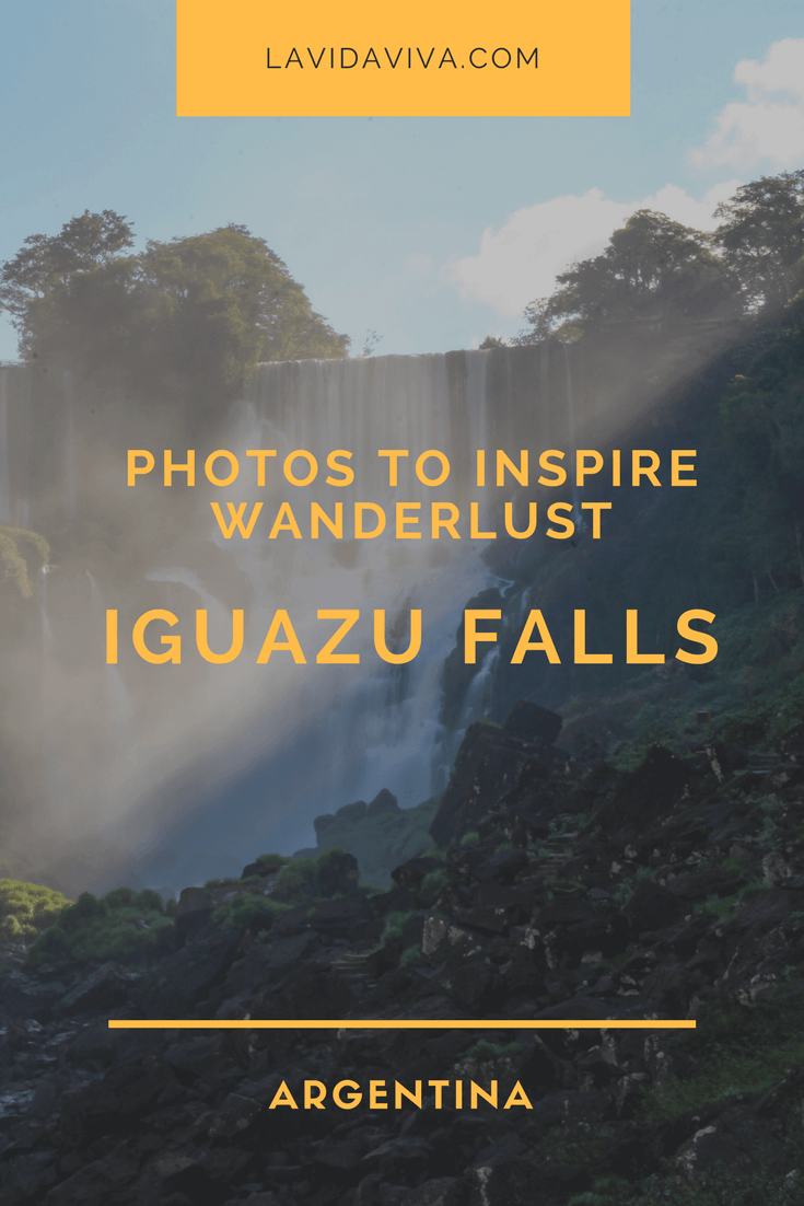 Beautifully captured photos guaranteed to inspire your inner wanderlust. Travel with us to the Iguazu Falls in Argentina.