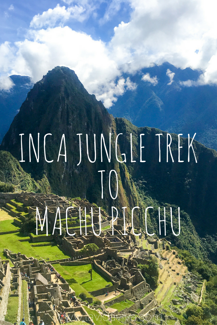 The Inca Jungle Trek is a 4-day adventure that includes mountain biking, rafting, ziplining and hiking. It is the ultimate adventure lover's way of getting to Machu Picchu but can be enjoyed by anyone!