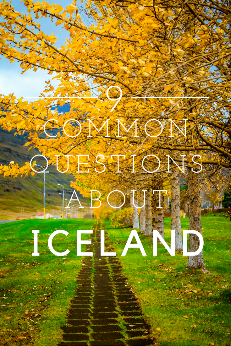 Questions About Iceland