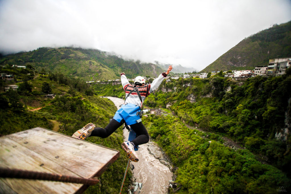 Banos Bridge jump