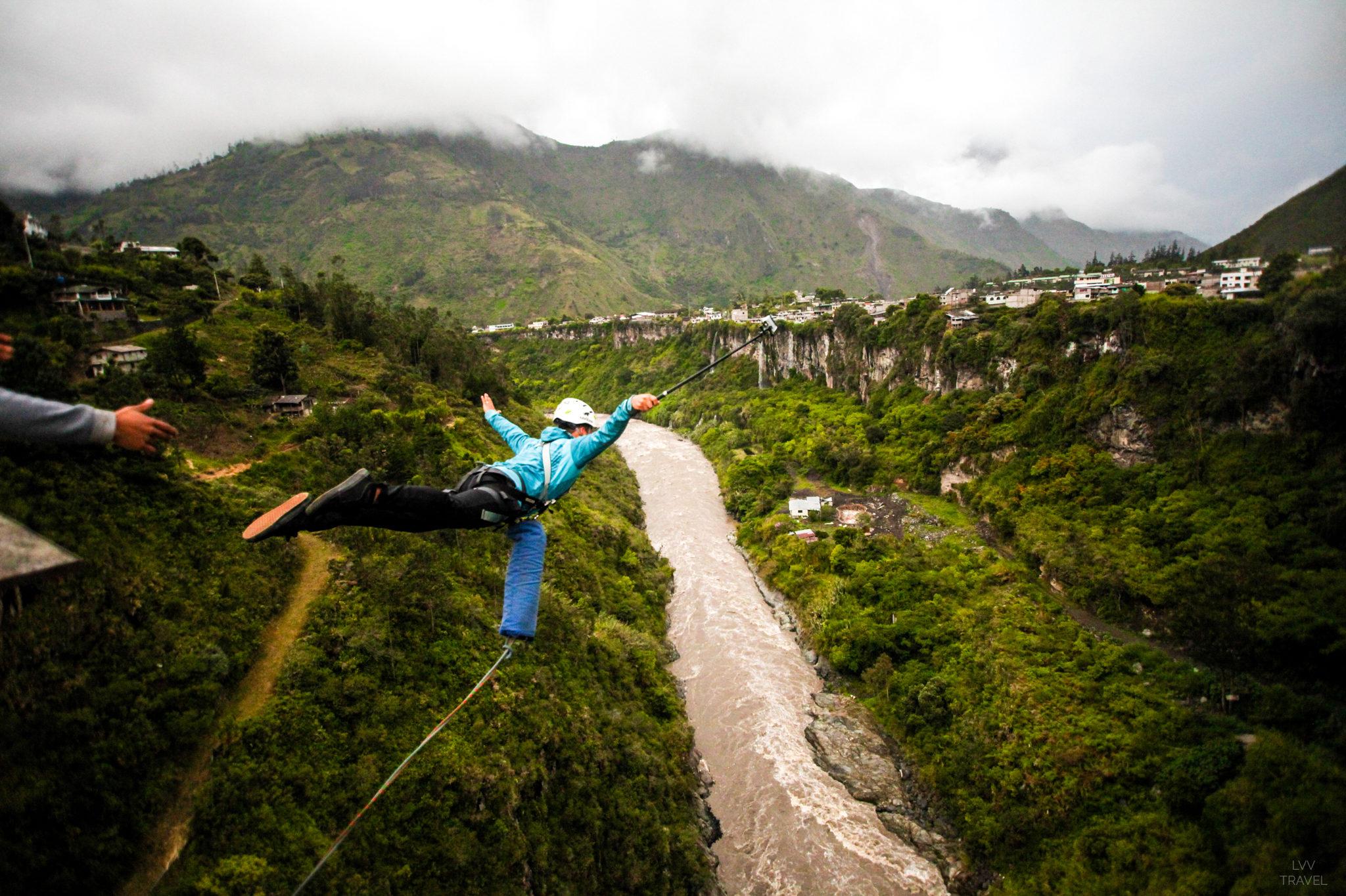 Banos bungee jumping