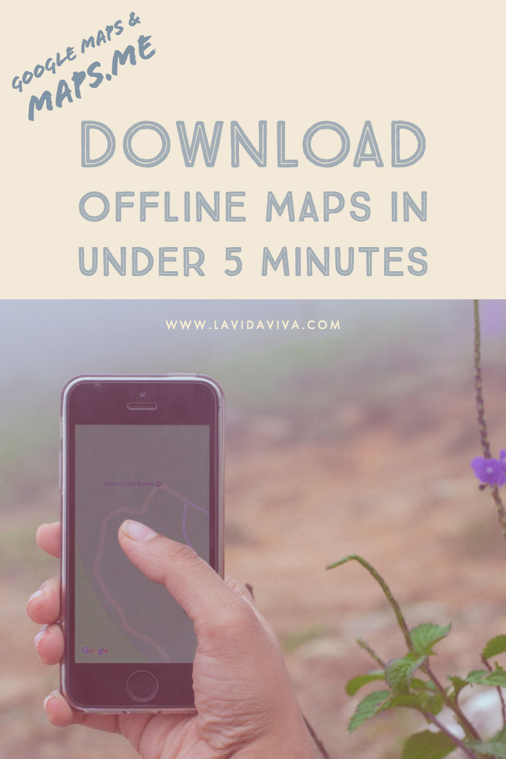Follow this easy step-by-step guide and learn to how to download offline maps for Google Maps and MAPS.ME. Never get lost again!