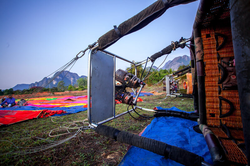 Vang Vieng Hot Air Balloon