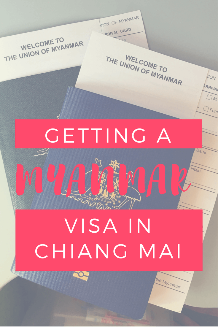 Most up to date information for getting a Myanmar visa in Chiang Mai, Thailand. Everything you need to know including what to bring to avoid any hassles!