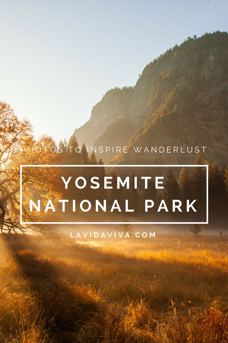 Beautiful photos of Yosemite National Park guaranteed to inspire your next adventure!