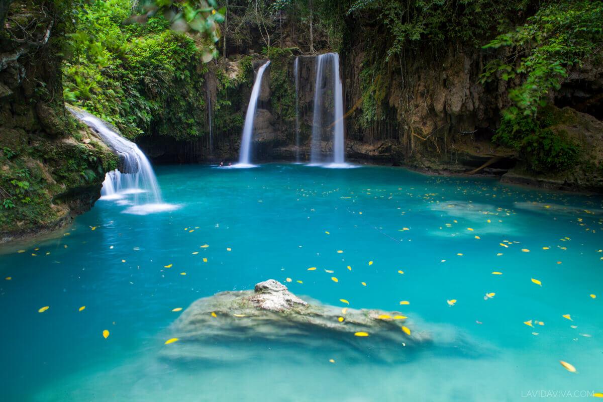 Kawasan Falls photography