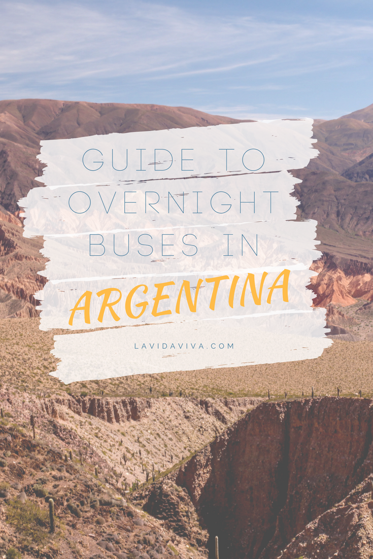 Overnight Argentina buses are a comfortable and affordable way of travelling through the country and you get to save money on accommodation for a night. Our latest post on tips to help make the most out of overnight buses and how to save money.
