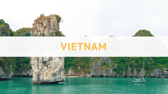 Awesome travel posts for backpacking and travel in Vietnam!