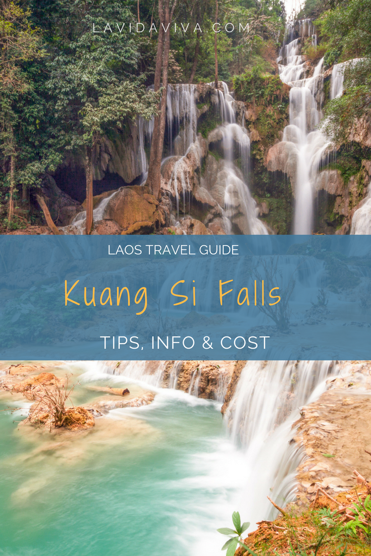 Kuang Si Falls is the absolute highlight of Luang Prabang. Nestled in a jungle with cascades flowing from the top of a mountain, it's a naturelover's and photographer's paradise. Here is everything you need to plan your visit.