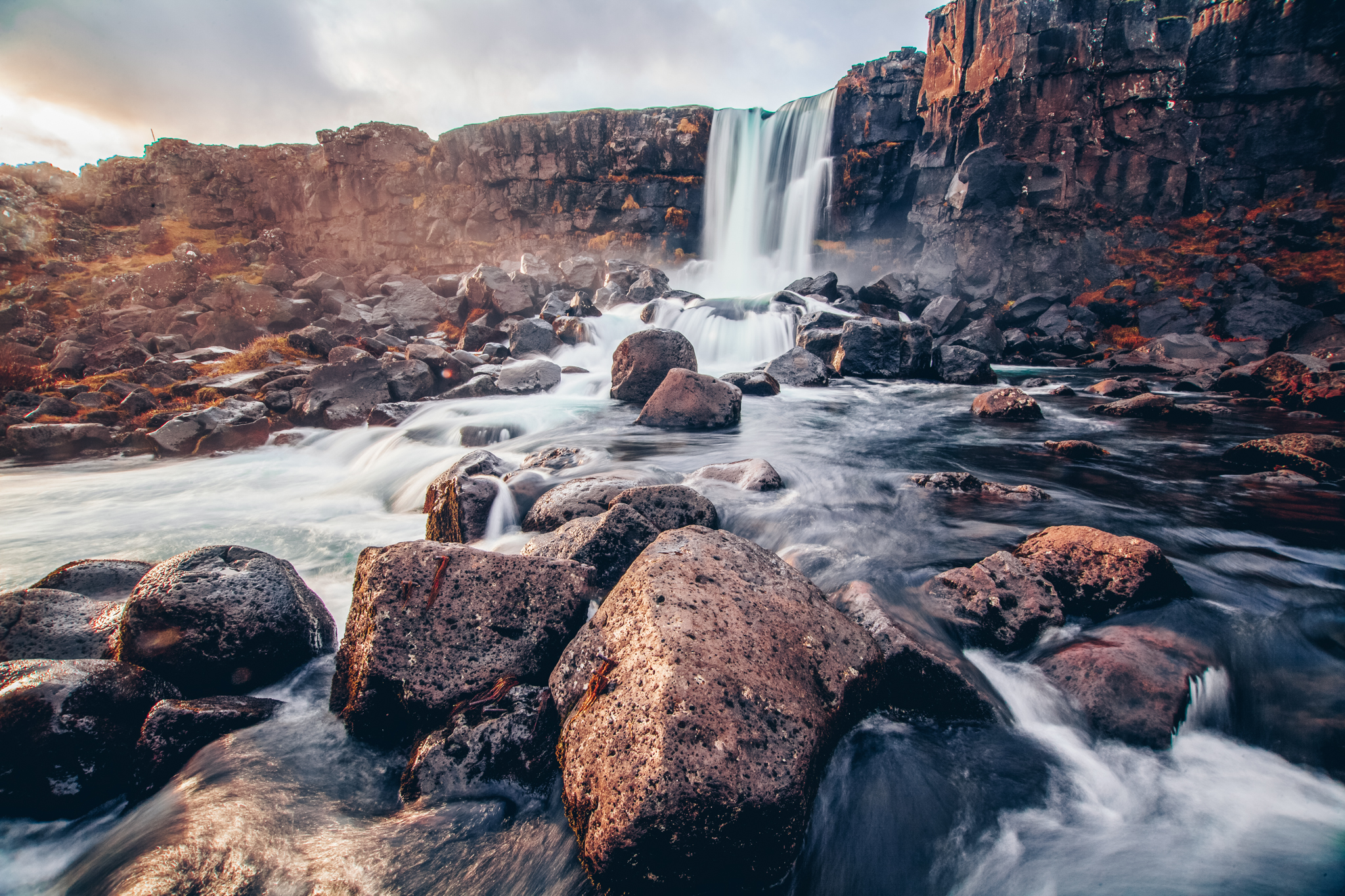 Öxarárfoss photography landscape