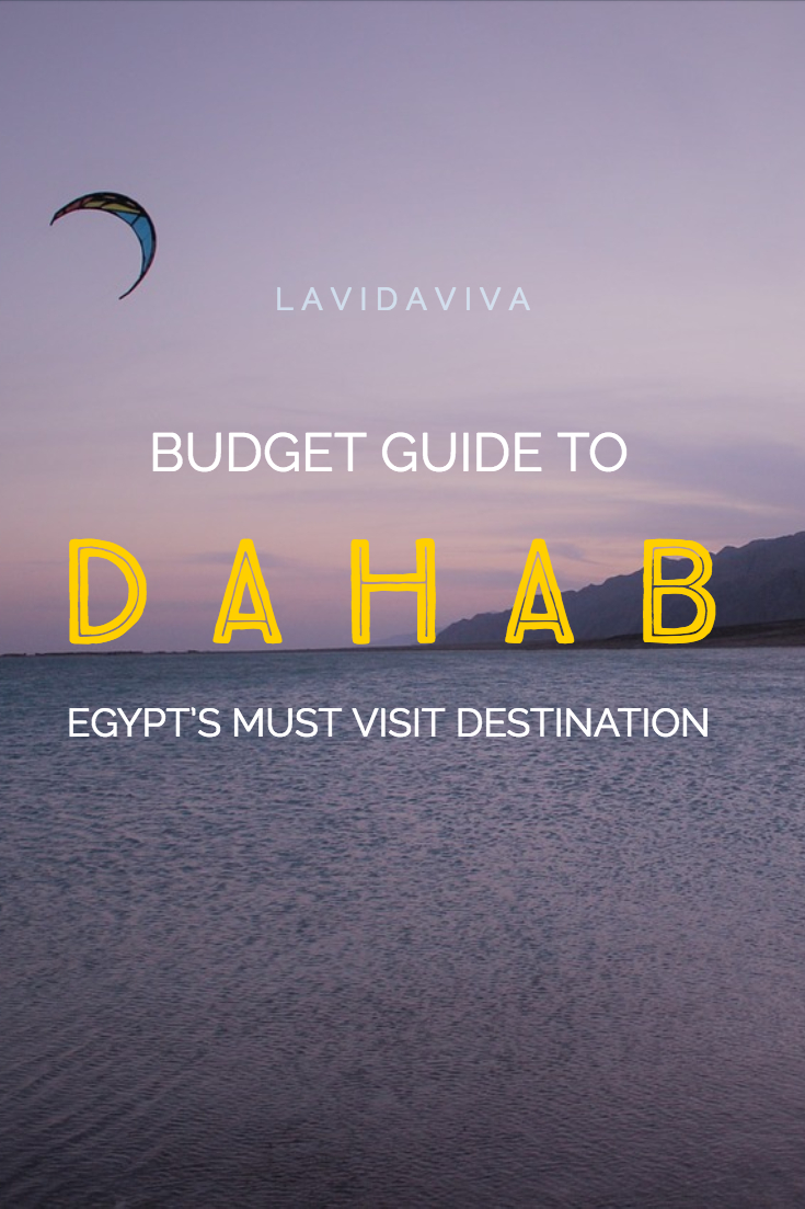 A complete backpacker's guide to Dahab, Egypt with information on the best things to do, where to stay, where to eat and how much you'll spend.