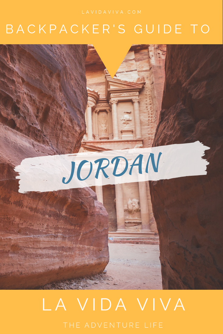 The Treasury Tomb at Petra in Jordan
